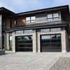 Aluminum Panoramic garage doors